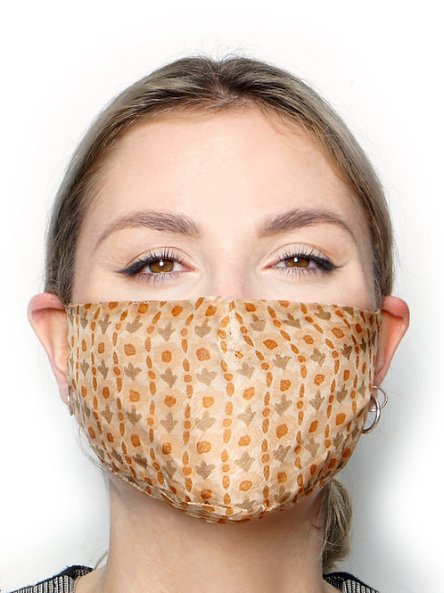 Uccellino - Silk Face Mask