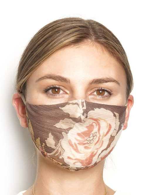 Rosa - Silk Face Mask