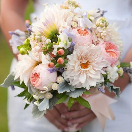 Denver Florists, spring wedding bouquet,
