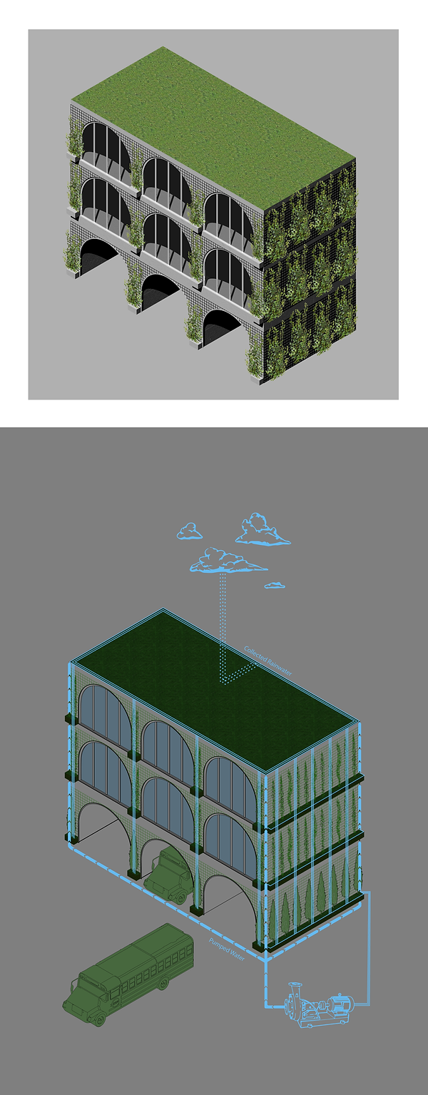 Classroom Building - Green Wall and Water Diagram.png