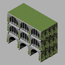 Classroom Building - Green Wall.png
