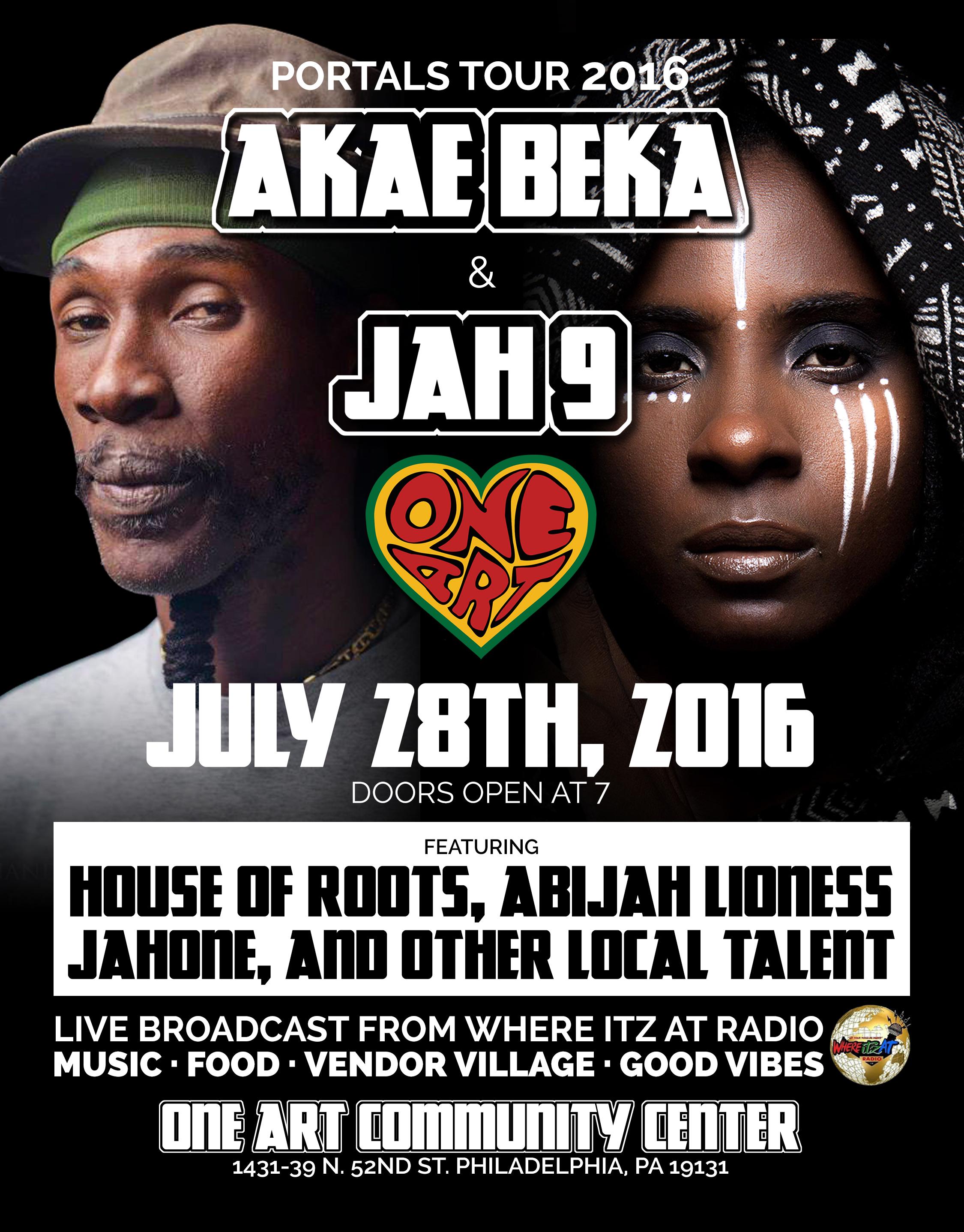 Akea Beka & Jah9