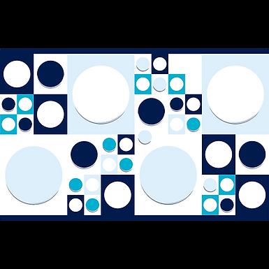 Inserto 25x40 Rash Azul