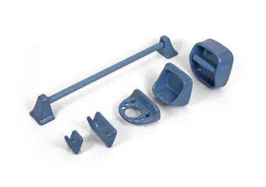 Kit de Accesorios Azul Pastel Trebol