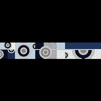 Listelo 6x39.5 Gabriela Azul