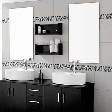 Listelo Zigurat Negro 45x4