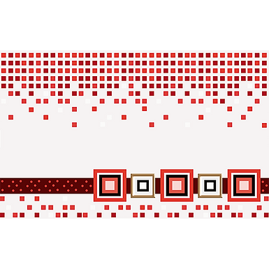 Inserto 25x40 Cristel Rojo
