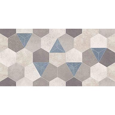 Pared 30x60 Wallconcret Hexagonal