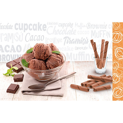 Inserto 25x40 Martina Chocolate