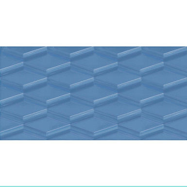 Pared 30x60 Prisma Azul