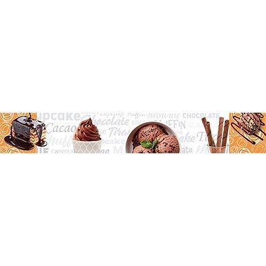 Listelo 6x39.5 Martina Chocolate HD