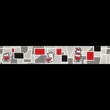 Listelo 6x39.5 Estratos Rojo