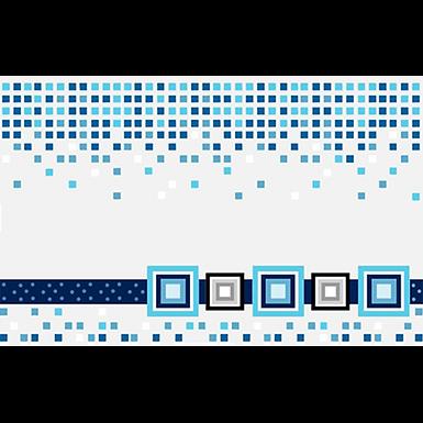 Inserto 25x40 Cristel Azul