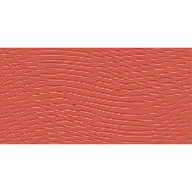Pared 30x60 Aquarela Ondas Rojo