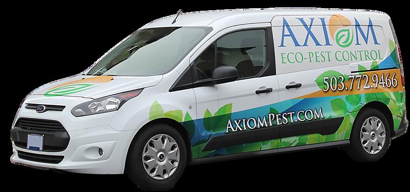 Axiom Eco-Pest Control Service Van
