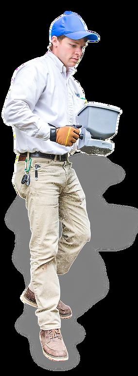 Axiom Eco-Pest Control Technician Granulating Yard