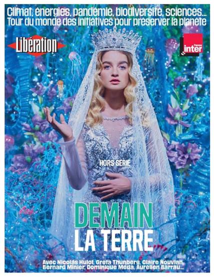 La reine des océans by Pierre et Gilles for Liberation