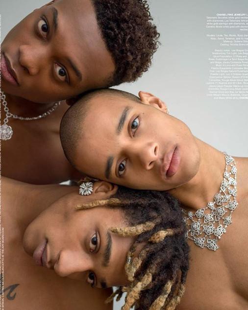 Flaunt Magazine #164 by Fabien Montique