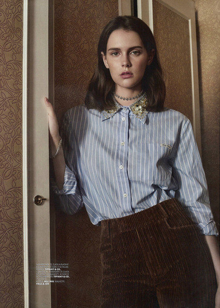 ELLE Czech Special Tiffany&Co by Ina Lekiewicz