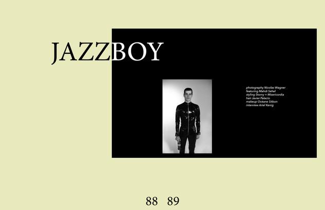 JAZZBOY for CRUSHfanzine by Nicolas Wagner