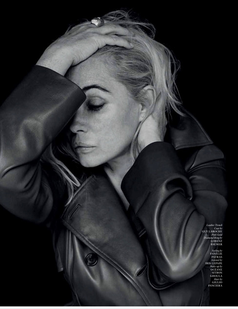 Emmanuelle Béart for Author Issue 2 by Sylvie Castioni