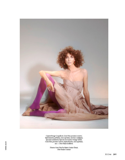ELLE Russia Special DIOR Jewellery by Vincenzo Liazza