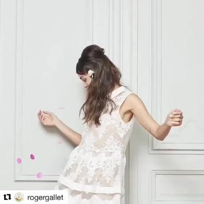 #Repost _rogergallet_・・・_#makeupbyme💄#g