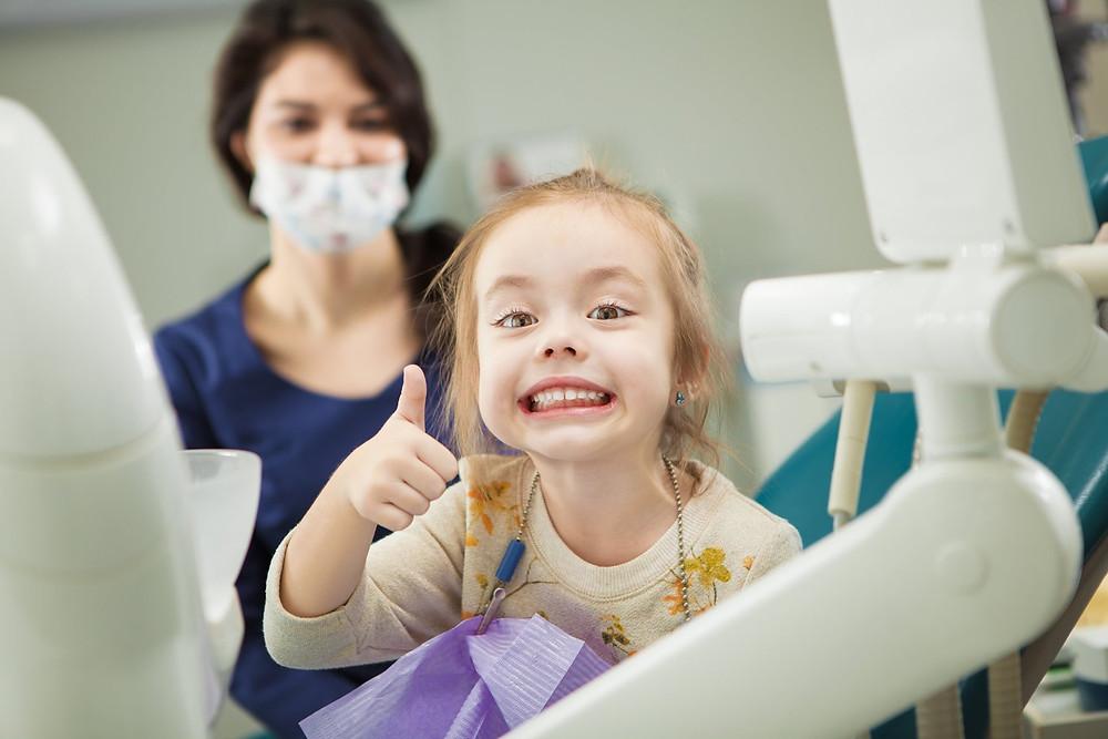 Erfolgreicher erster Zahnarztbesuch