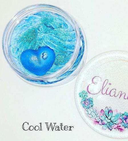 Cool Aqua- Scoopable Cloud Wax