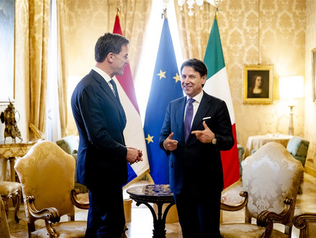 Rutte named Italian prime minister in Brussels backroom deal
