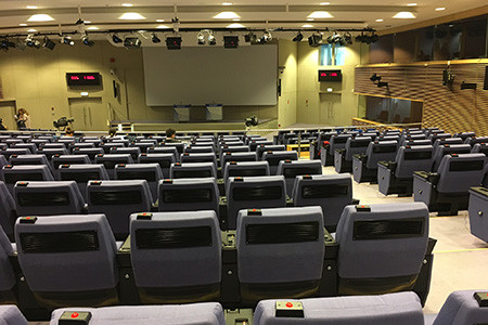 New protocols for re-opened Berlaymont press room