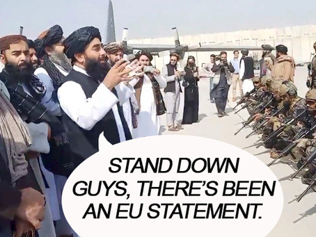 Afghanistan crisis prompts immediate EU meeting and some statement or other