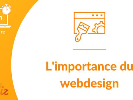 L'importance du Webdesign et de la page d'accueil d'un site Internet