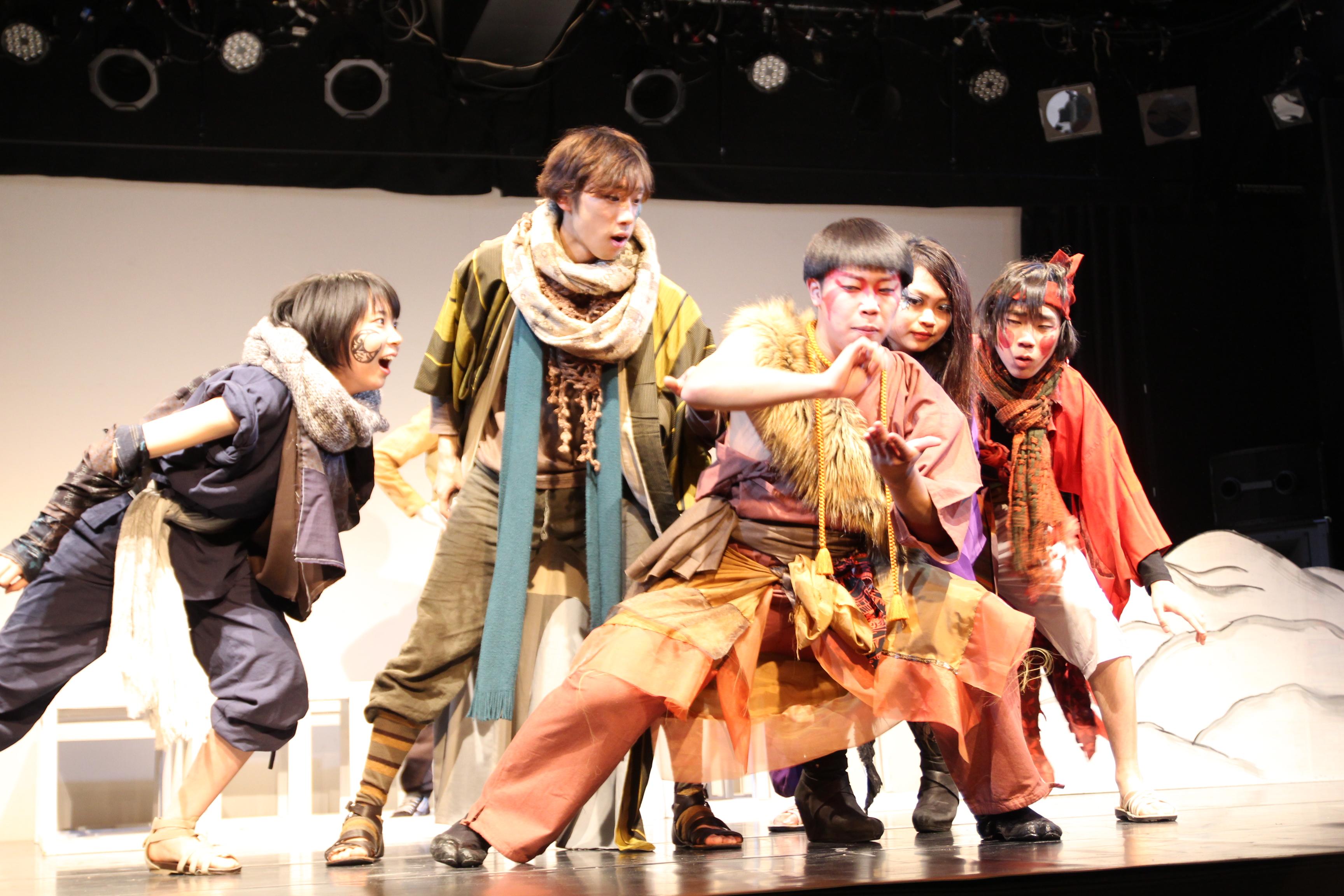 第二回公演『タケカミカケタ』
