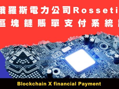 俄羅斯電力公司Rosseti推出 基於區塊鏈的賬單支付系統試點