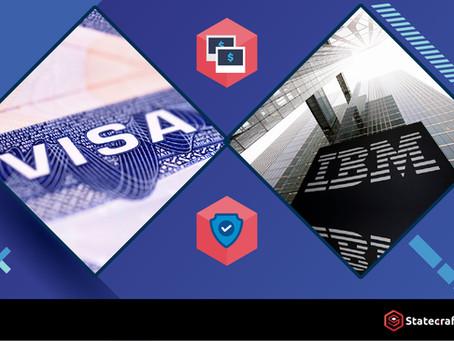 VISA與IBM合作:推出區塊鏈數位身份解決方案