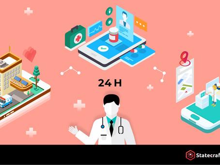AI+區塊鏈對話機器人 「蘭醫師」提供全年無休醫療照護管理