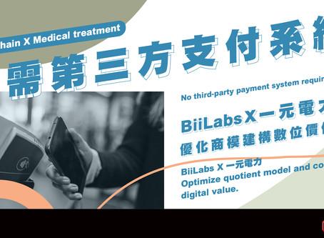 BiiLabsX一元電力 優化商模建構數位價值