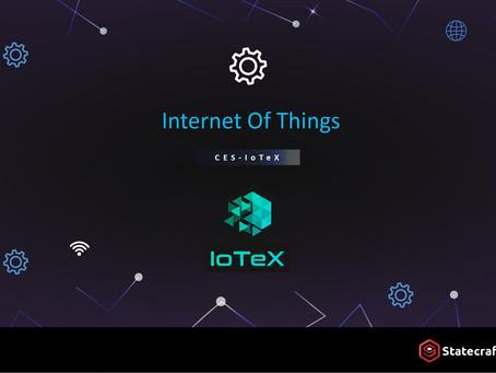 2019 CES-IoTeX提供物聯網的區塊鏈平台