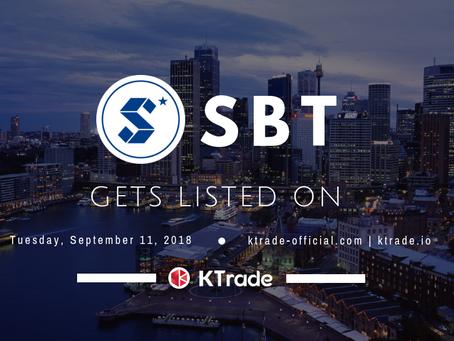 KTrade開放 SBT(STAR BIT)交易