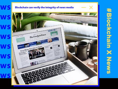 區塊鏈可驗證新聞媒體完整性