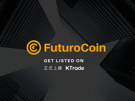 KTrade開放FTO(futurocoin)交易