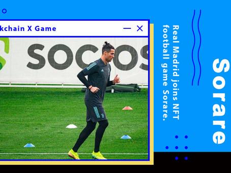 皇家馬德里加入NFT足球遊戲Sorare