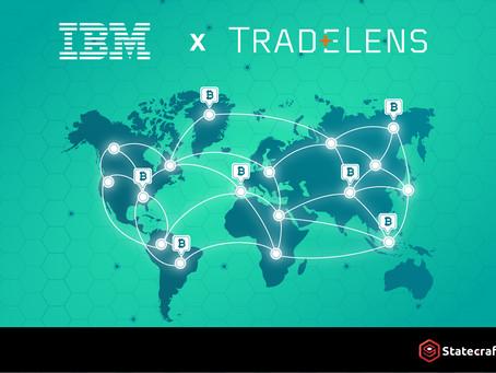 IBM x TradeLens :透過區塊鏈完成貨運追蹤試點