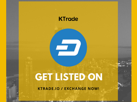 KTrade開放DASH(Dash)交易