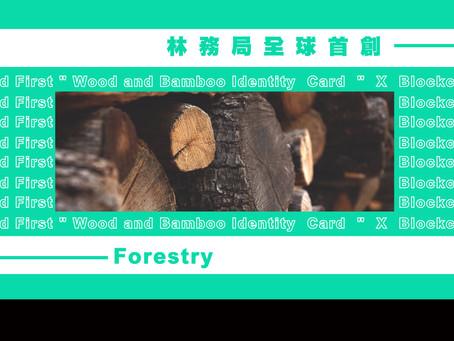 全球首創應用區塊鏈  讓臺灣木竹材將有身分證了