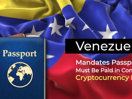 委內瑞拉護照只能用石油幣支付