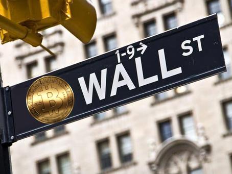 華爾街金融市場成績一般般,投資者轉戰比特幣
