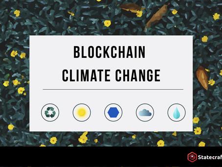 用區塊鏈解決氣候變化和環境污染問題