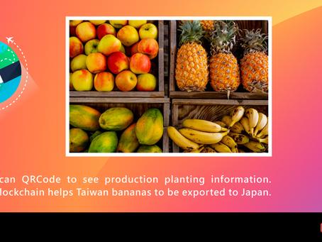掃QR Code就能看生產履歷 區塊鏈助台灣香蕉外銷日本